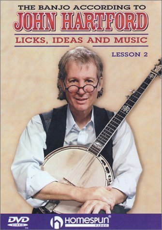 - DVD-The Banjo According To John Hartford #2 by Homespun Tapes by Happy Traum