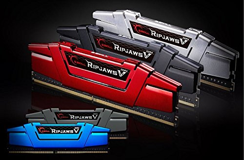 G.SKILL Ripjaws V Series 16GB (2 x 8GB) 288-Pin DDR4 2400 (PC4 19200) Intel Z170/X99 Desktop Memory F4-2400C15D-16GVR by G.Skill (Image #2)