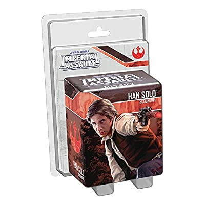 Star Wars: Imperial Assault - Han Solo (Scoundrel) Ally Pack: Fantasy Flight Games: Toys & Games