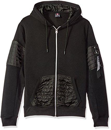 Southpole Men's Long Sleeve Hooded Full Zip Fleece Sweats...