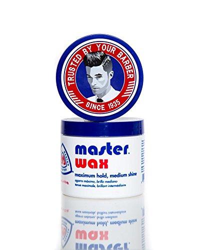 (Master Well Comb Wax Maximum Hold Medium Shine 4)