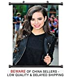 Sofia Carson Cute Actress Singer Fabric Wall Scroll Poster (16x24) Inches