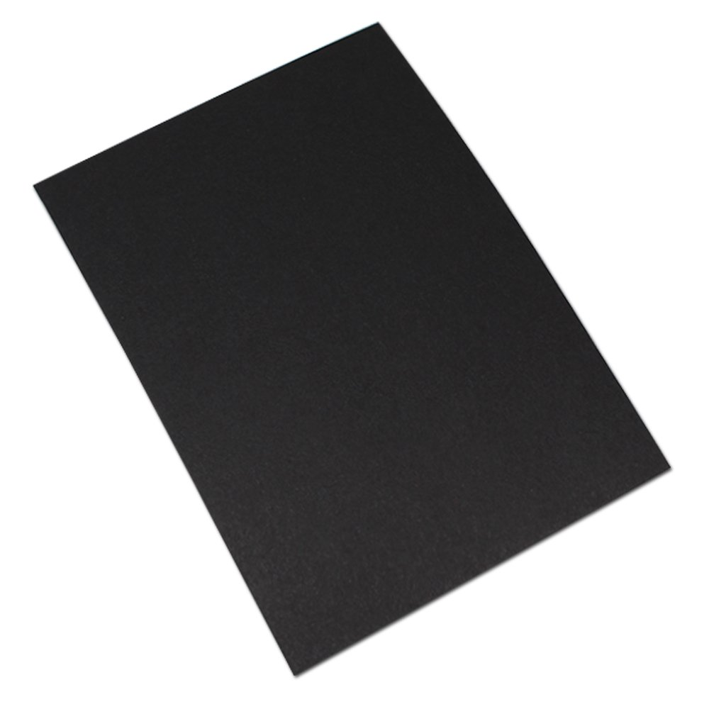 Multi-Color Kraft Paper Blank Note Cards Greeting Cards DIY Message Gift Tags Office Business Word Supplies Envelopes File Wedding Baby Shower Invitation Letter 10x15cm (3.9x5.9 inch) (40 Pcs, Black)