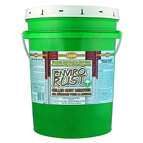 Enviro Rust - Non Acid Rust Remover - gel, 78720, 20 L pail (5.25 gal) by Enviro Rust
