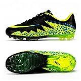 Bazaar Unisex Adult Spike Sneaker Men's Training Football Shoes Breathable Soccer Boots