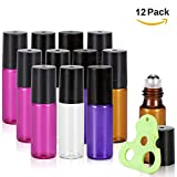 Olilia Glass Roll on Bottles with Metal Roller - Best Reviews Guide