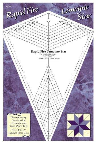 Rapid Fire Lemoyne Star - Quilting Tool