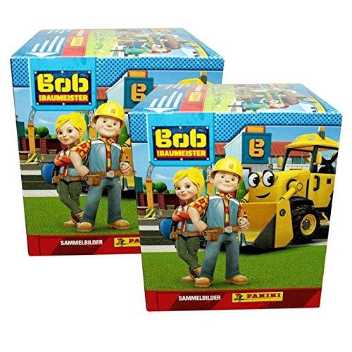 CAGO Unbekannt Panini - Bob der Baumeister - Sammelsticker Album, Tüten, Display (2 Display)