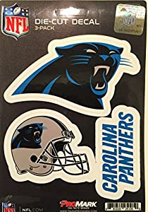 NFL Team Decal, 3-Pack