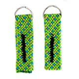 Green Guru Gear Climbing Rope Upcycled Made in USA Zipper Pulls