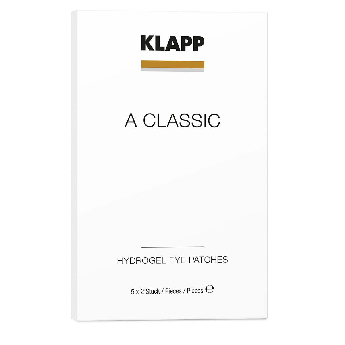 KLAPP A CLASSIC HYDROGEL EYE PATCHES 5 x 2 pcs by KLAPP A CLASSIC 1808