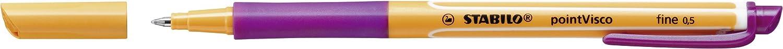Tintenroller STABILO pointVisco 10er Pack rot