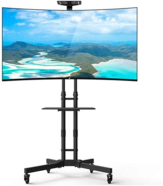Exing Móvil TV Carrito LCD Stand, para 32