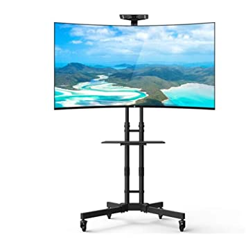 "Exing Móvil TV Carrito LCD Stand, para 32""-65"" LCD LED Plasma"