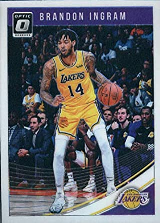 b44879f50 2018-19 Donruss Optic  64 Brandon Ingram Los Angeles Lakers Basketball Card
