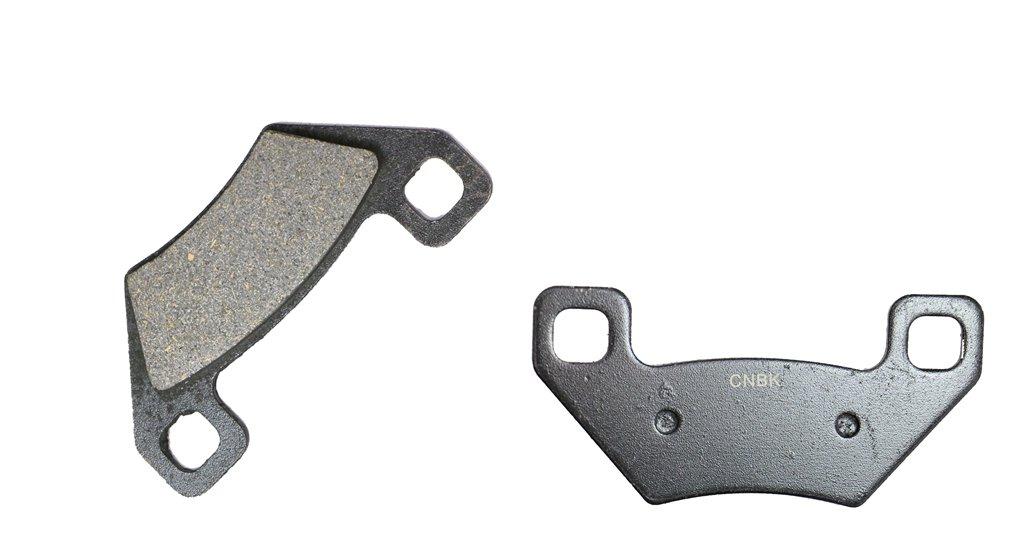 CNBK Semi Metallic Brake Shoe Pads Set fit for ARCTIC CAT ATV Bike TRV700 TRV 700 cc 700cc 09 10 11 12 13 14 15 2009 2010 2011 2012 2013 2014 2015 6 Pads