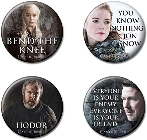 Ata-Boy Game of Thrones Characters Set of 4 1.25