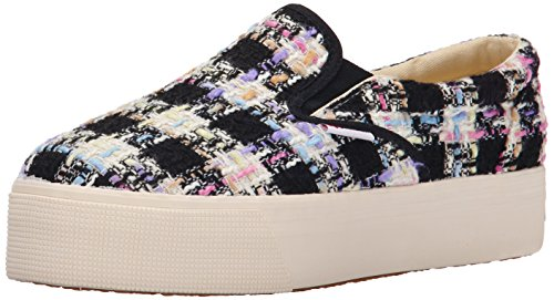 Superga Dames 2314 Bouclemultichecksw Fashion Sneaker Roze / Multi