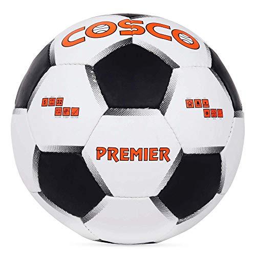 Cosco Premier Football, Size 4  White/Black