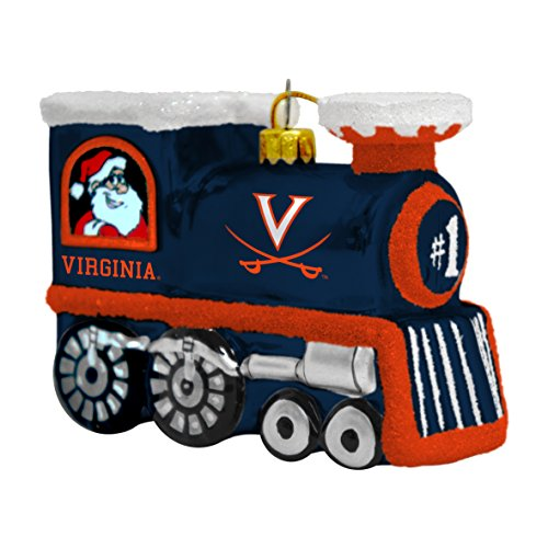 (NCAA Virginia Cavaliers Train Ornament)