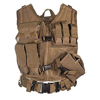 Mil-Tec Army USMC Marines Assault Military Combat Paintball Tactical Vest