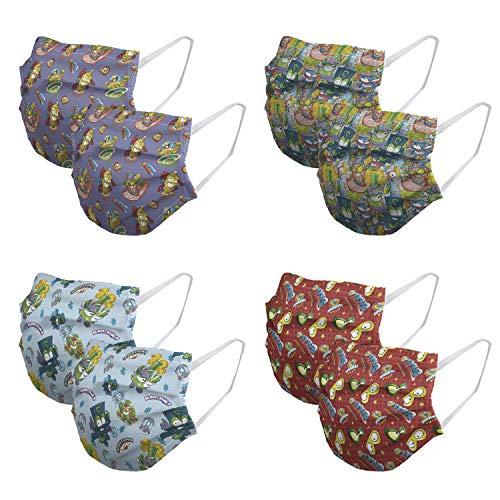 🥇 Mascarillas para niños Higienizantes Reutilizables con licencia – 10 lavados – Fabricadas en España