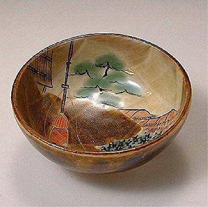 Amazon com | Kiyomizu-kyo yaki ware  Japanese Sake guinomi cup