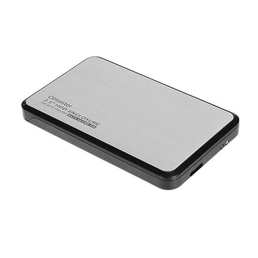 interrumpir USB 3.0 6,3 cm Aluminio HDD Serial SSD Caja disco duro ...