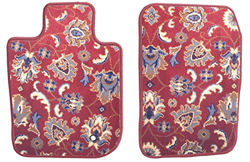 Front Set Custom Car Mat (For Select Oldsmobile Aurora Models (_Standard)), Red Oriental - GG Bailey D2814A-F1A-RD-IS
