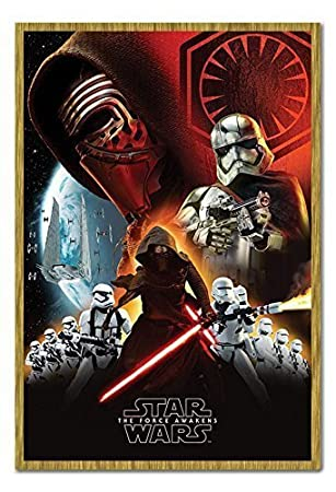 Star Wars Episodio 7 The Force Awakens First Order Cartel ...