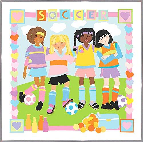 Soccer Framed Print 32.4''x32.4'' by Cheryl Piperberg by Frame USA