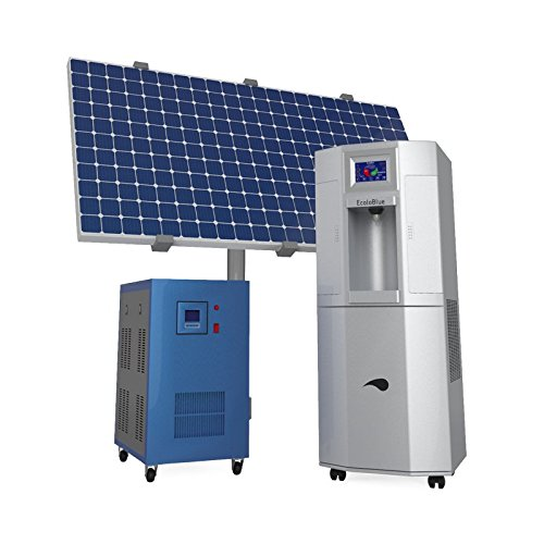 Atmospheric Water Generator ~ Ecoloblue me atmospheric water generator w deluxe solar