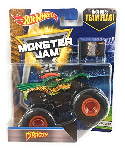 Which are the best monster jam 1 24 scale 2017 available in 2019?