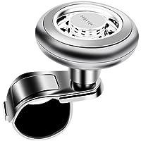 Ndier Boule De Volant, Poignée de Volant Rotatif à 360Degrés Bouton de Serrage Pince Accessoire Auto pour Voiture