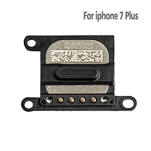Johncase New OEM Ear Sound Speaker Earpiece Replacement Part Compatible for iPhone 7 Plus and iPhone 8 Plus 5.5 (All Carriers)