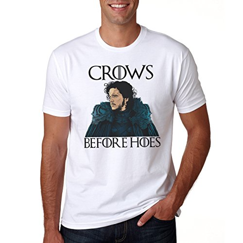Crows Before Hoes Portrait Game Of Thrones Herren T-Shirt