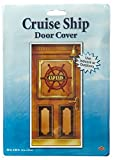 Beistle 57315 1-Pack Cruise Ship Door Cover, 30-Inch by 5-Feet