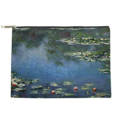 CafePress - Waterlilies By Claude Monet - Makeup Pouch