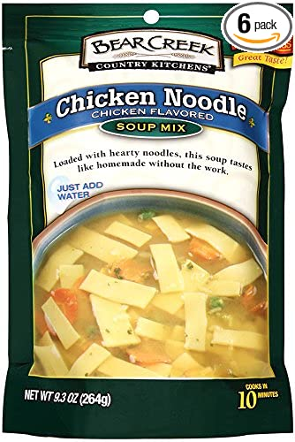 Bear Creek Soup Mix, Chicken Noodle, 8 8 Ounce (Pack of 6)