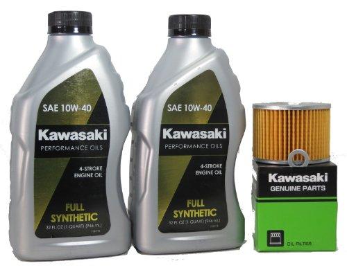 2012 Kawsaki EX250JCF (Ninja 250R) Full Synthetic Oil Change Kit