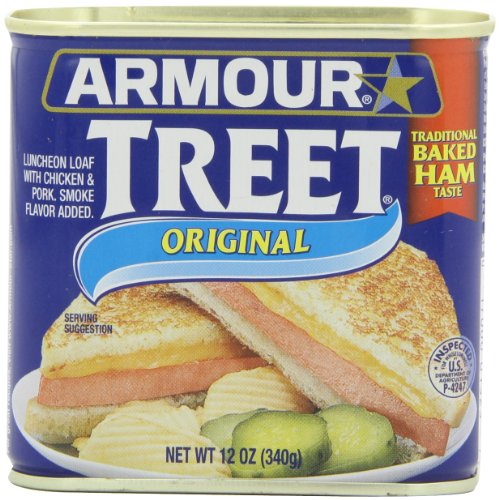 Armour Treet Luncheon Meat, 12-Ounce (Pack of 6)