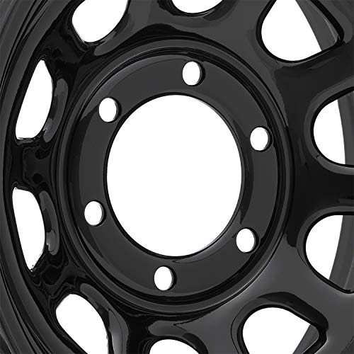 Pro Comp Steel Wheels Series 51 Wheel with Flat Black Finish (16x8