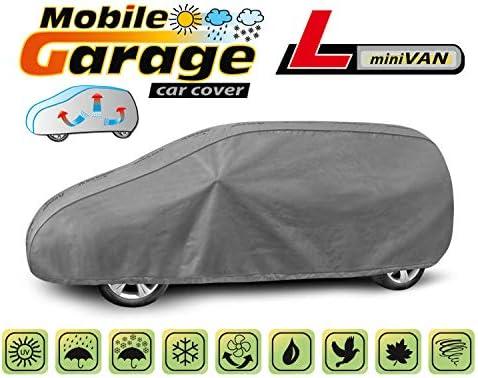 Abdeckplane Autoabdeckung Frostschutz Schneeschutz Wasserdicht Mobile L Van kompatibel mit Honda FR-V I 2004-2009 universal