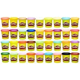 Toys : Play-Doh Modeling Compound 36-Pack Case of Colors, Non-Toxic, Assorted Colors, 3-Ounce Cans, Ages 2 and up, (Amazon Exclusive)