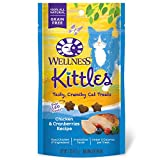 Wellness Kittles Natural Grain Free Cat Treats, Tuna & Cranberries, 2-Ounce Bag