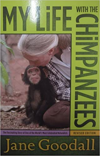 My Life with the Chimpanzees: Jane Goodall: 9780671562717: Amazon ...