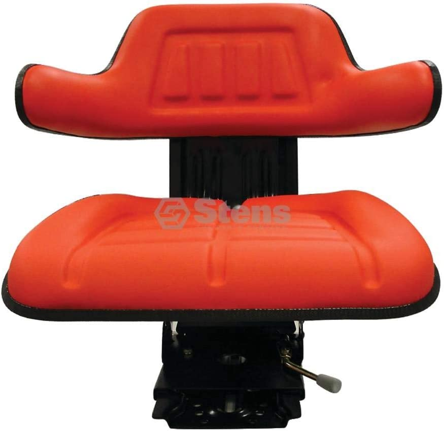 Stens Seat for Economy suspension adjustable red