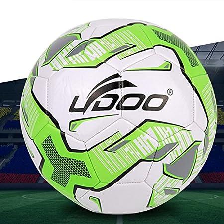 Wewoo Balón 21.5 cm Piel sintética Costura Portátil Fútbol Match ...