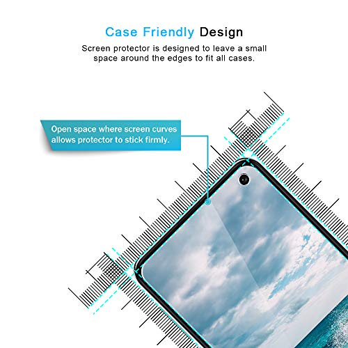 TOCOL [3PACK] for Samsung Galaxy S10e Screen Protector Tempered Glass HD Clarity, Anti-Scratch, Bubble Free Easy Installation Tray