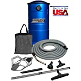 VacuMaid GV50BPRO Professional Wall Mounted Utility and Garage Vacuum with 50 ft Hose and Tools
